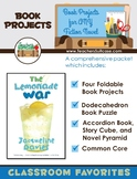 Book Projects for ANY Fiction Novel {Dodecahedron Puzzle, Story Cube, & More}