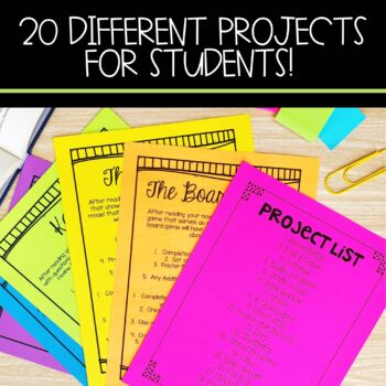 Book Projects for Any Novel