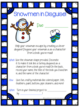 Book Projects for seasons & holidays - editable!