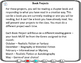 Book Projects * Book Reports * Creative Book Projects (with Grading Rubric)