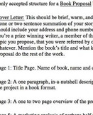 Book Proposal Project