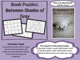 Book Puzzles: Between Shades of Gray - Questions and Vocabulary