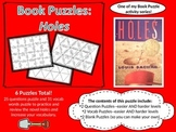 Book Puzzles: Holes - Questions and Vocabulary