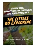 Comprehension Questions for The Littles Go Exploring by John Peterson