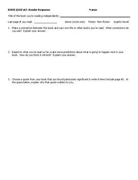 Book Quiz 2