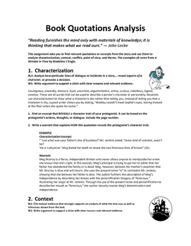 Book Quotations Analysis