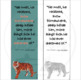 Book Quote Bookmark - Tiger Rising by Kate DiCamillo - Color and B/W
