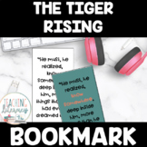 The Tiger Rising Novel Study Bookmark