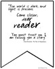 The Tale of Despereaux Novel Study Quote Banners