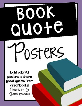 Book Quote Posters