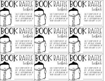Book Raffle Tickets