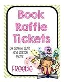 Reading Book Raffle Tickets: FREEBIE