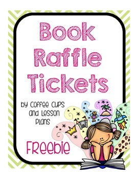 Reading Book Raffle Tickets: FREEBIE
