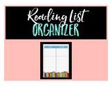 Book Reading List