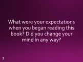 Book Reading Prompts