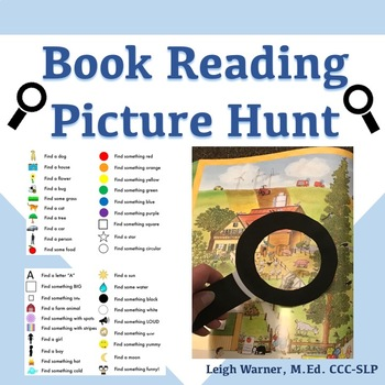 Book Reading Picture Hunt!