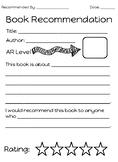 Book Recommendation Binder