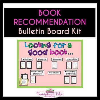 Book Recommendation Bulletin Board Kit