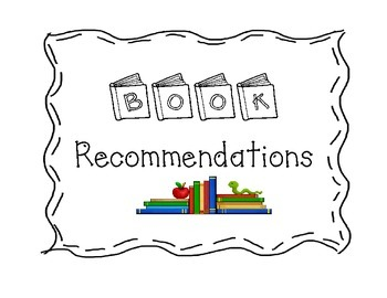 Book Recommendation Cards and Poster