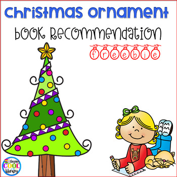 Book Recommendation Christmas Ornament - Freebie