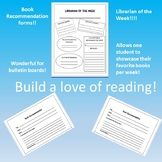 Book Recommendation Forms and Librarian of the Week