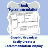 Book Recommendation Graphic Organizer