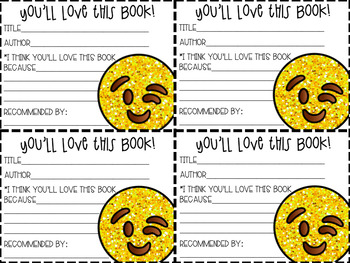 Book Recommendation Notes: EMOJI
