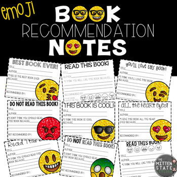 Book Recommendation Notes Emoji