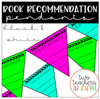 Book Recommendation Pendants