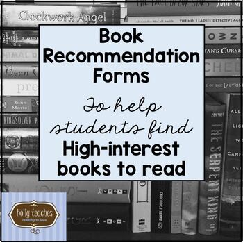 Book Recommendation Template