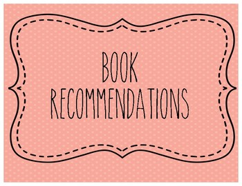 Book Recommendation Cards for Class Library