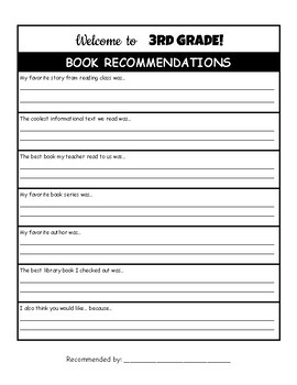 Book Recommendations: End of year