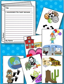 Book Recommendations Interactive Bulletin Board: Independent Reading