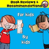 Book Recommendations & Reviews for Kids by Kids