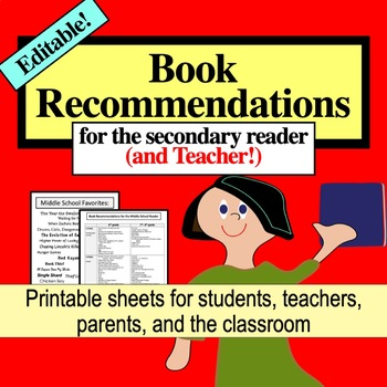 Book Recommendations for the Middle School Reader (and Teacher!)