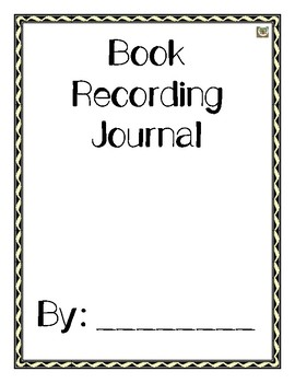 Book Recording Journal