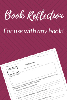Book Reflection- Any Book