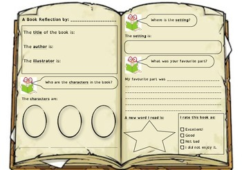 Book Reflection/Report/Review - Fiction