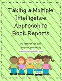 Multiple Intelligence Book Report Menu