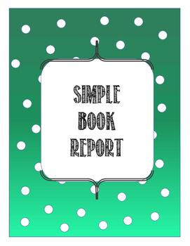 Book Report (simple)