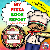 Creative Book Report (Pizza Template with Rubric)