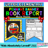 Book Report Template: Movie Theme