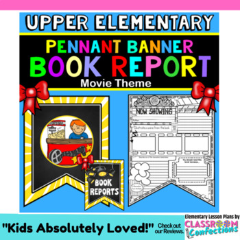 Book Report Template: Movie Theme