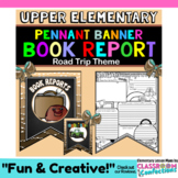 Book Report Form: Fun Road Trip Theme