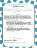 Book Report (3 options)