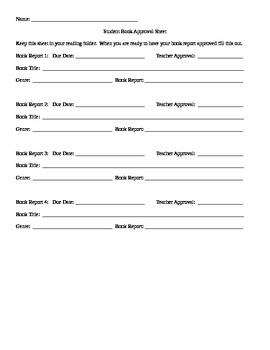 Book Report 33 Fun Options