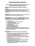 Book Report 4 Square- character, theme, art, POV