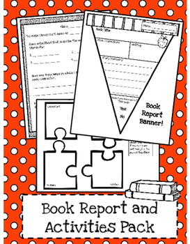 Book Report and Graphic Organizer Templates