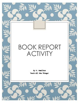Book Report Activity