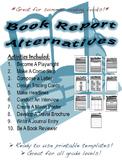 Book Report Alternatives- 10 Activities!